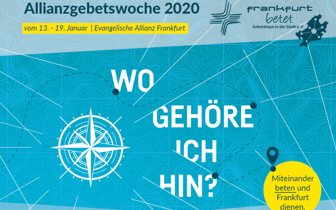 Allianzgebetswoche am 14.01. und 15.01.2020